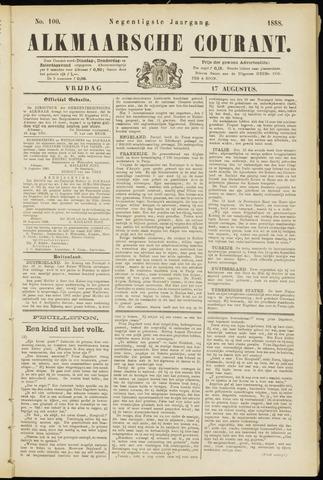 Alkmaarsche Courant 1888-08-17