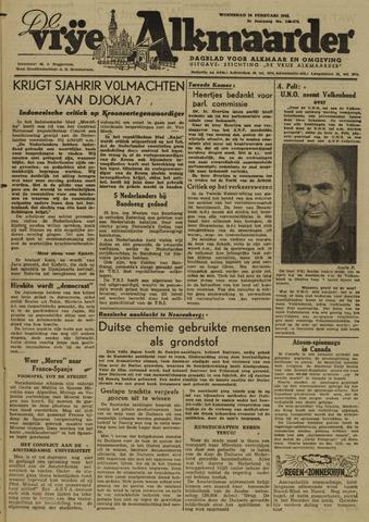 De Vrije Alkmaarder 1946-02-20