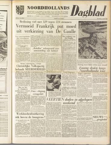 Noordhollands Dagblad : dagblad voor Alkmaar en omgeving 1958-06-02
