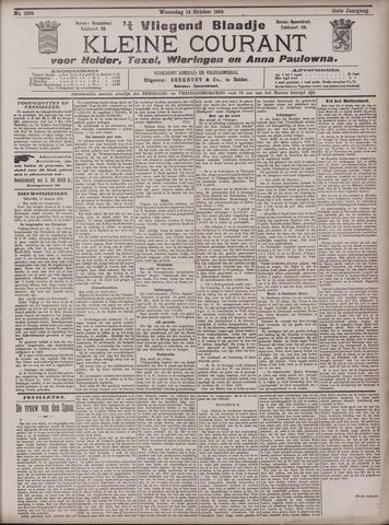 Vliegend blaadje : nieuws- en advertentiebode voor Den Helder 1903-10-14