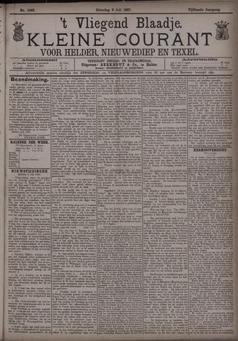 Vliegend blaadje : nieuws- en advertentiebode voor Den Helder 1887-07-09