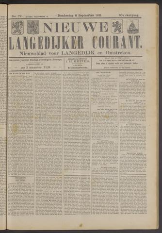 Nieuwe Langedijker Courant 1921-09-08