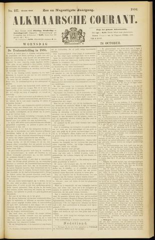 Alkmaarsche Courant 1894-10-24