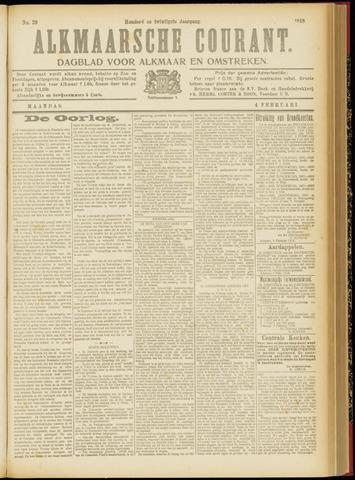 Alkmaarsche Courant 1918-02-04