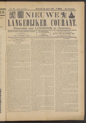Nieuwe Langedijker Courant 1922-04-22