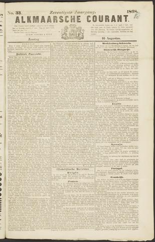 Alkmaarsche Courant 1868-08-16