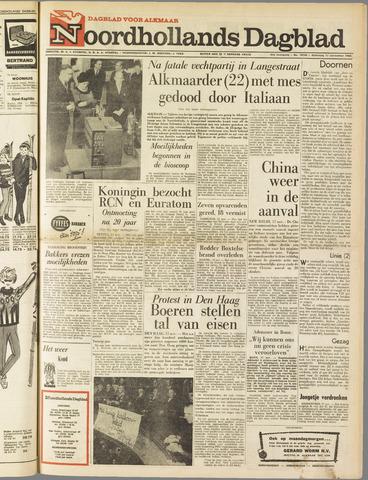 Noordhollands Dagblad : dagblad voor Alkmaar en omgeving 1962-11-17