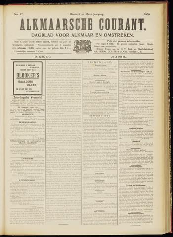 Alkmaarsche Courant 1909-04-27