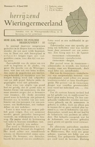 Herrijzend Wieringermeerland 1945-06-08