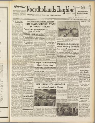 Nieuw Noordhollandsch Dagblad : voor Alkmaar en omgeving 1950-04-01