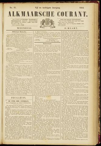 Alkmaarsche Courant 1883-03-14