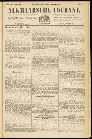 Alkmaarsche Courant 1902-11-28