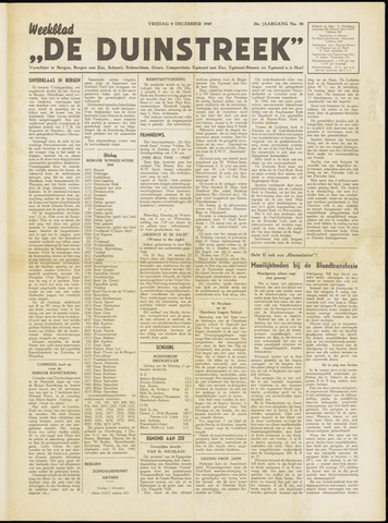 De Duinstreek 1949-12-09