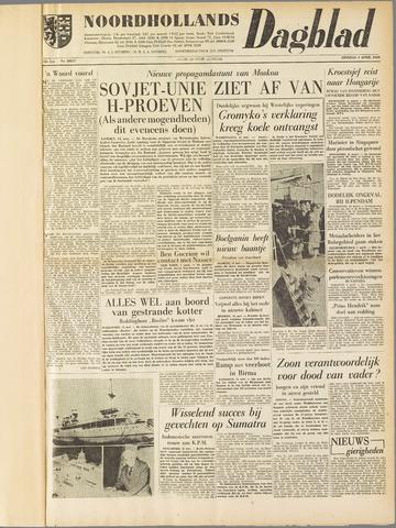 Noordhollands Dagblad : dagblad voor Alkmaar en omgeving 1958-04-01