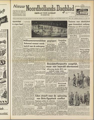 Nieuw Noordhollandsch Dagblad : voor Alkmaar en omgeving 1951-11-03