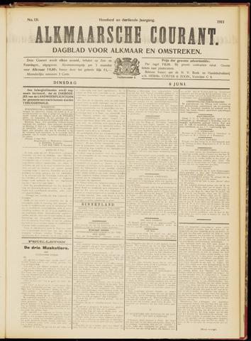 Alkmaarsche Courant 1911-06-06