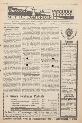 Contact met de Egmonden 1962-06-07