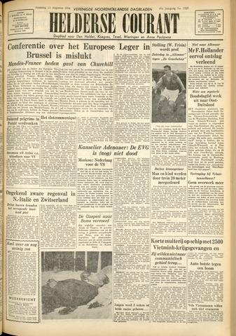 Heldersche Courant 1954-08-23