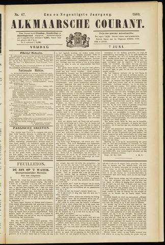 Alkmaarsche Courant 1889-06-07