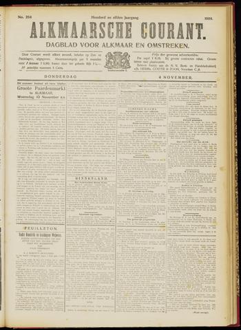 Alkmaarsche Courant 1909-11-04