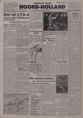 Dagblad Noord-Holland, Schager editie 1942-09-01