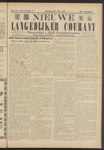 Nieuwe Langedijker Courant 1927-07-26