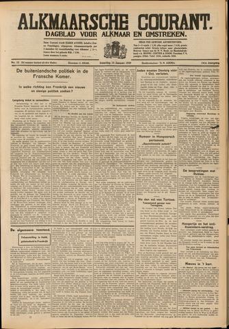 Alkmaarsche Courant 1939-01-14