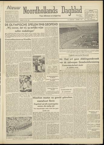 Nieuw Noordhollandsch Dagblad : voor Alkmaar en omgeving 1948-07-30