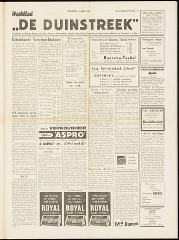 De Duinstreek 1961-11-10