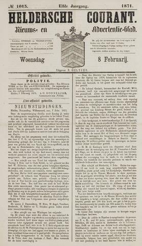 Heldersche Courant 1871-02-08