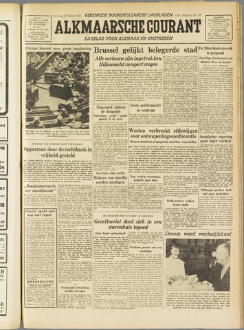 Alkmaarsche Courant 1955-03-26