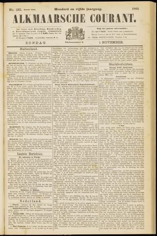 Alkmaarsche Courant 1903-11-01
