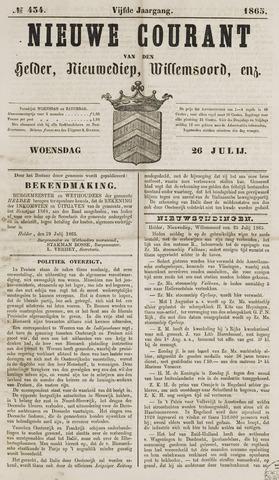 Nieuwe Courant van Den Helder 1865-07-26
