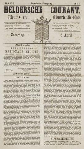 Heldersche Courant 1873-04-05