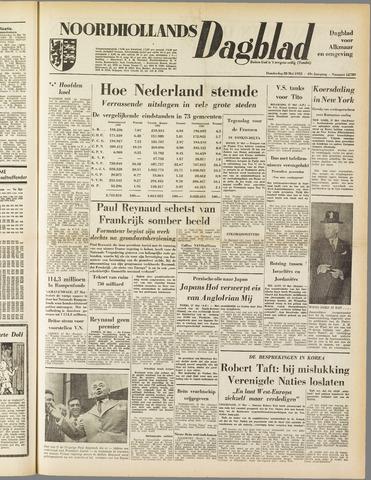 Noordhollands Dagblad : dagblad voor Alkmaar en omgeving 1953-05-28