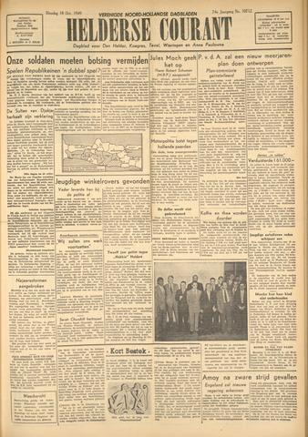 Heldersche Courant 1949-10-18