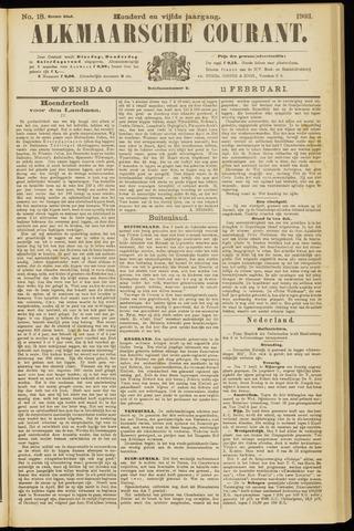 Alkmaarsche Courant 1903-02-11