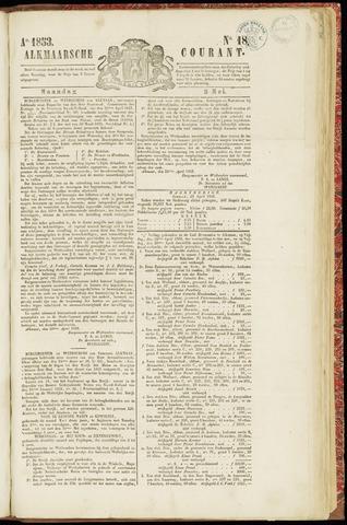 Alkmaarsche Courant 1853-05-02