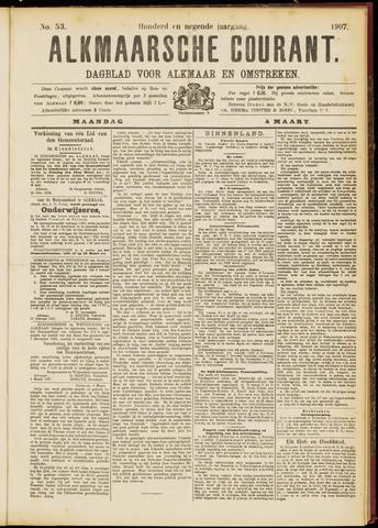 Alkmaarsche Courant 1907-03-04