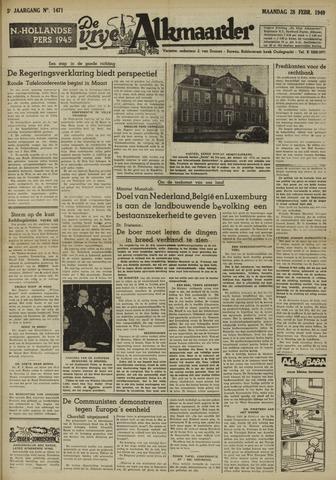 De Vrije Alkmaarder 1949-02-28