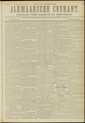 Alkmaarsche Courant 1919-09-10