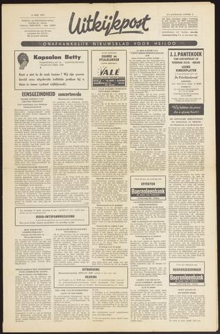 Uitkijkpost : nieuwsblad voor Heiloo e.o. 1970-04-08