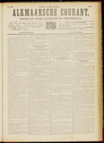 Alkmaarsche Courant 1909-11-11