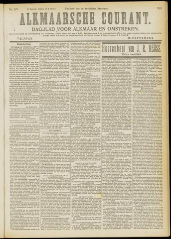 Alkmaarsche Courant 1919-09-26