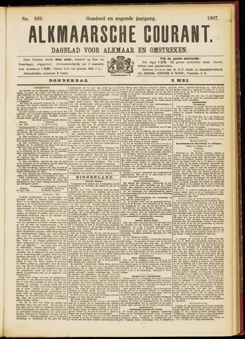 Alkmaarsche Courant 1907-05-02