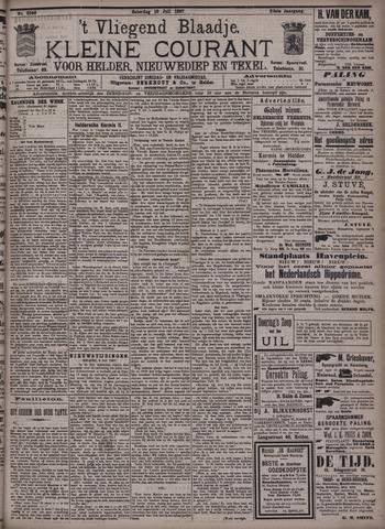 Vliegend blaadje : nieuws- en advertentiebode voor Den Helder 1897-07-10