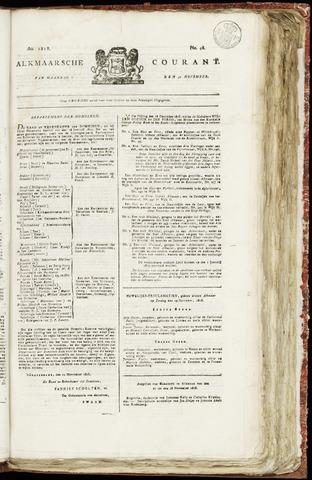 Alkmaarsche Courant 1818-11-30