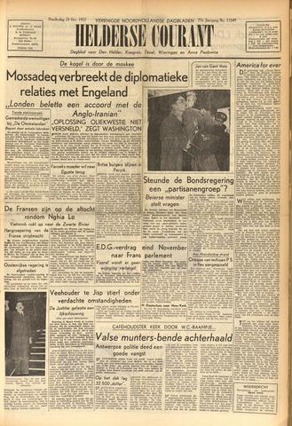 Heldersche Courant 1952-10-23