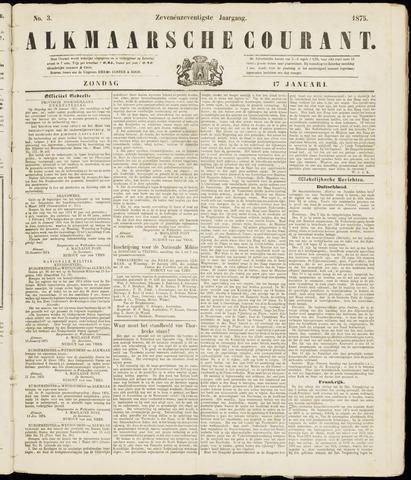 Alkmaarsche Courant 1875-01-17