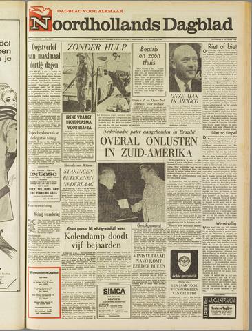 Noordhollands Dagblad : dagblad voor Alkmaar en omgeving 1968-10-05